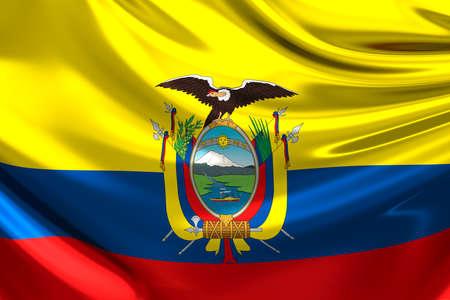 ecuador: Flag of Ecuador.