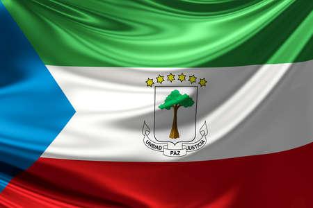 equatorial guinea: Flag of Equatorial Guinea.
