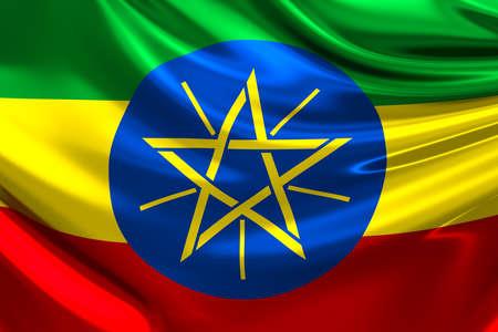ethiopia: Flag of Ethiopia.