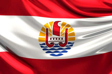 polynesia: Flag of French Polynesia.