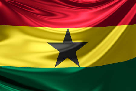 ghana: Flag of Ghana.