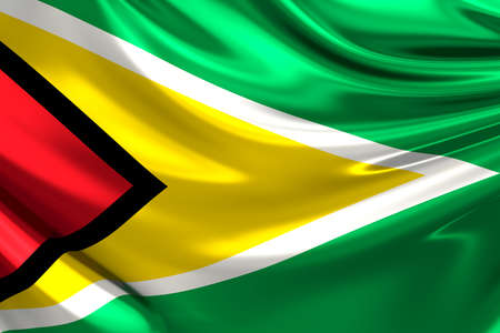 co operative: Flag of Guyana. Stock Photo