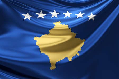 rn3d: Flag of Kosovo.