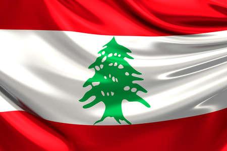 lebanon: Flag of Lebanon.