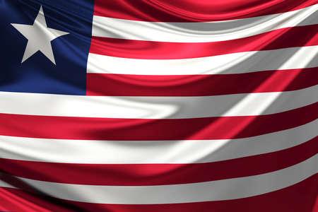 liberia: Flag of Liberia.