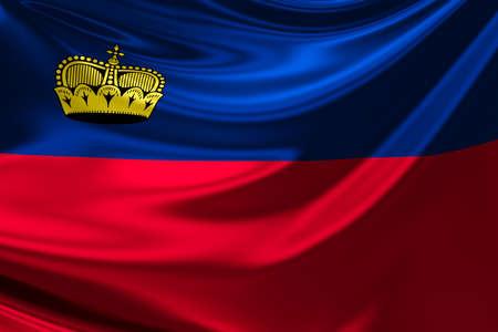 liechtenstein: Flag of Liechtenstein.