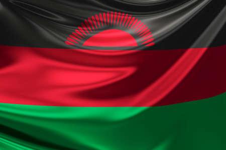 malawi: Flag of Malawi.