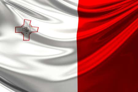 malta flag: Flag of Malta.