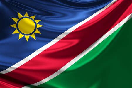 anthem: Flag of Namibia.