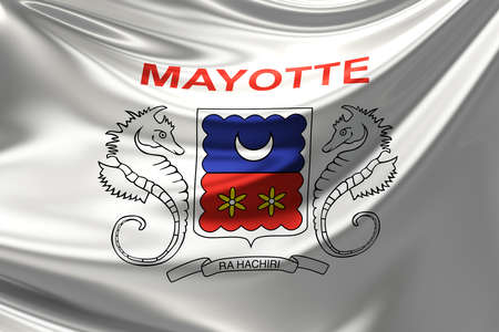 mayotte: Flag of Mayotte.