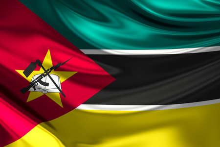 anthem: Flag of Mozambique.