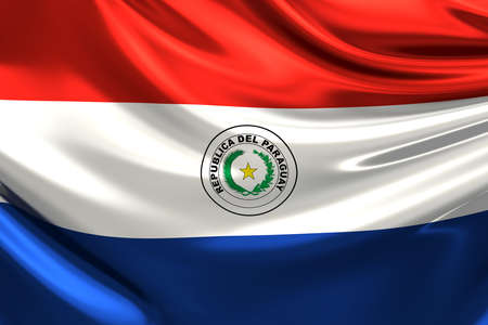 bandera de paraguay: Bandera de Paraguay.