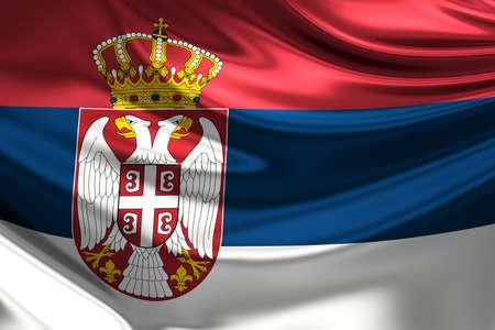 rn3d: Flag of Serbia.