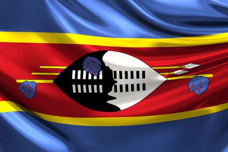 swaziland: Flag of Swaziland.