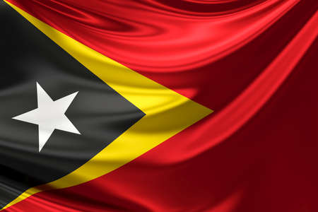 rn3d: Flag of East Timor.