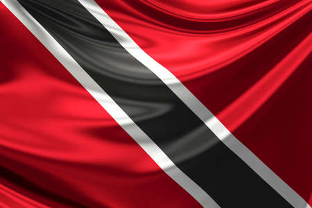 trinidad and tobago: Flag of Trinidad and Tobago.