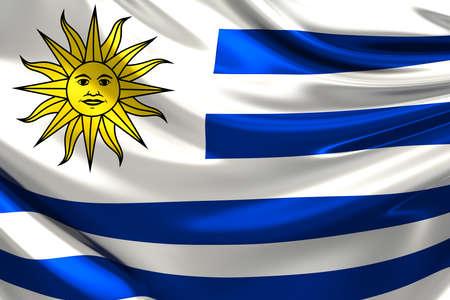 uruguay: Flag of Uruguay.