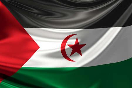 sahrawi arab democratic republic: Flag of the Sahrawi Arab Democratic Republic (Western Sahara).