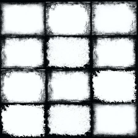 グランジ フレーム 写真素材
