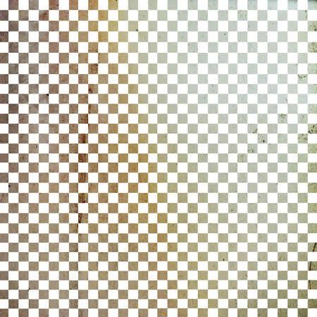 グランジ チェッカー ボード、抽象的な背景のイラスト
