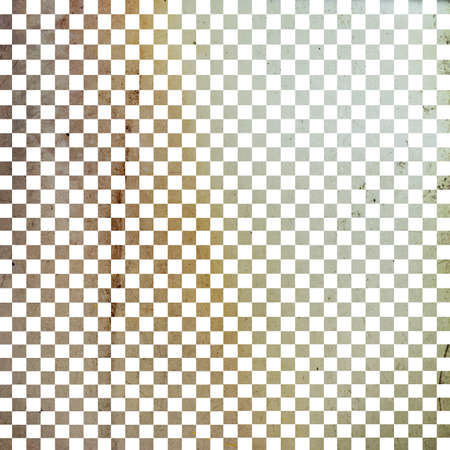 Illustration of grunge checker board, abstract background illustration