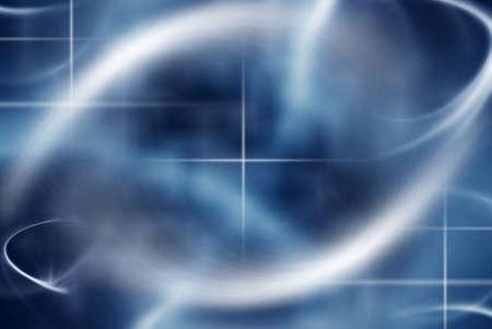 青の色合いの抽象的な背景 写真素材