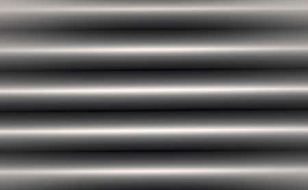 Metallic blinds on a window  photo