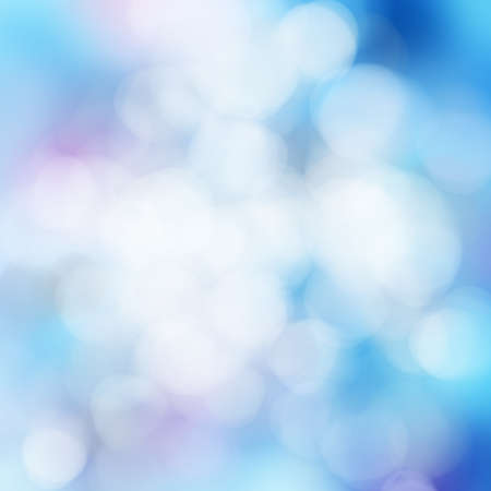 bluish: bright colorful sun and sea bokeh background