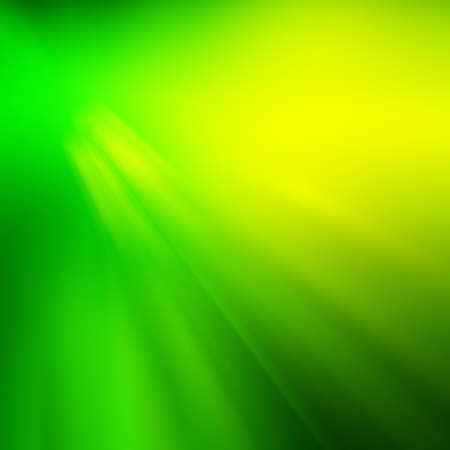 Green Nature Background With Line