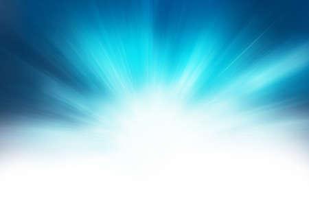 starburst blue abstract background