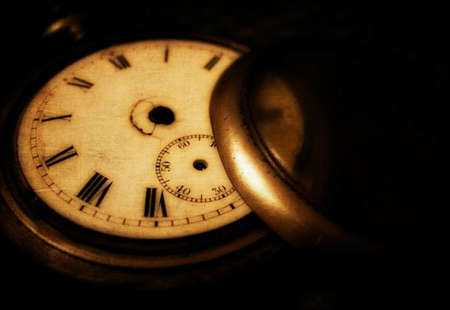 pocket watch: vintage background with a pocket watch
