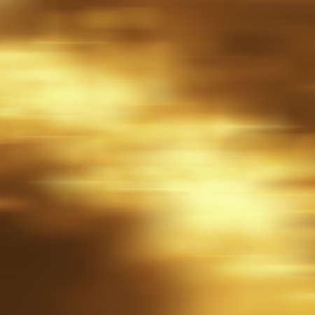 抽象的な黄金の星高級クリスマス休暇、結婚式背景茶色のフレーム明るいスポット ライト滑らかなヴィンテージ背景テクスチャ金紙のレイアウト デ