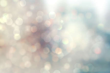 light red: christmas lights. Christmas soft  Bokeh background Stock Photo