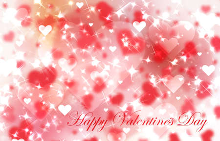 pretty s shiny: Red valentines day background with hearts