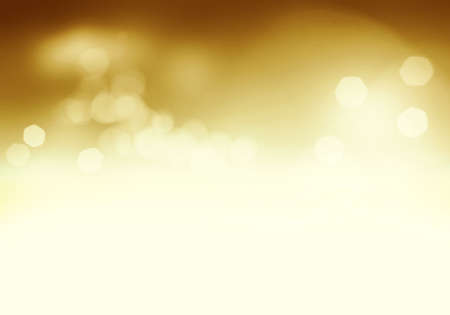 intense: Golden soft abstract sparkling background with intense glowing sparkles and glitter Stock Photo