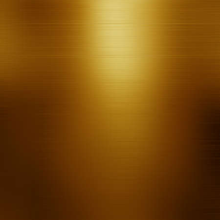 polished: gold polished metal, steel texture. Stock Photo
