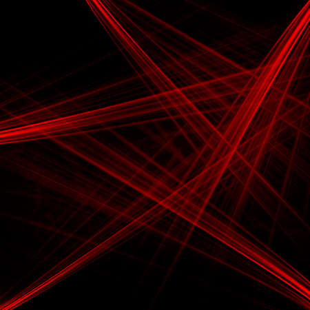 Abstract background of the red laser beams