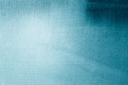Blue canvas texture background for art painting and drawing. Abstract painting pattern and texture.