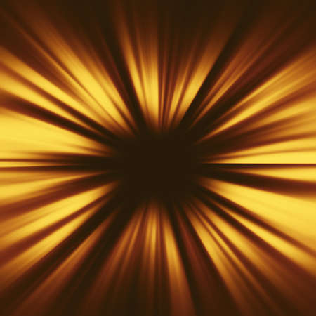 Bright sunbeams shiny summer burst background with vibrant yellow colors. Gold illustration. Perfect light striped golden starburst abstract background