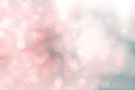 Abstrait rose bokeh. Fond scintillant de Noël coloré. Abstrait de Noël. Fond de Noël scintillant. Fond de Noël rouge Fond de Noël scintillant. Banque d'images