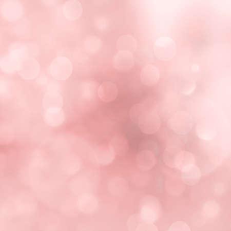 abstract christmas lights. Pink Christmas soft Bokeh background