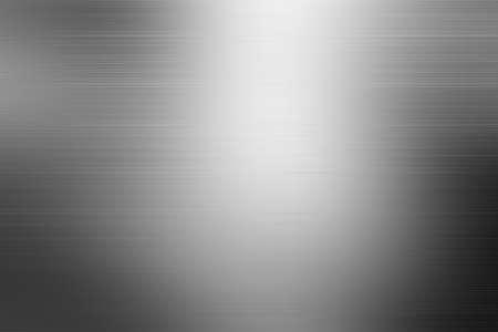 Struttura in metallo spazzolato. Fondo d'acciaio. Fondo di struttura della lamina d'argento/struttura d'acciaio fondo strutturato d'argento nero del modello con le riflessioni.