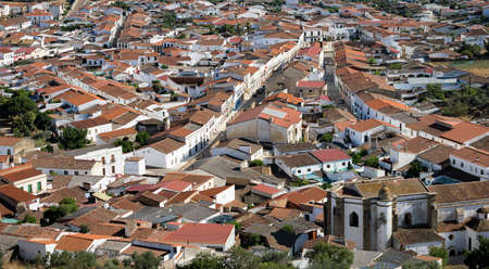 Alconchel, a town in the southwest of Spain, next to the border with Portugal.