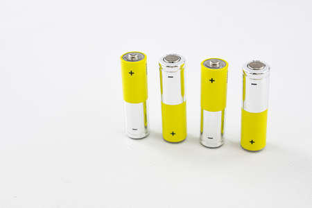 1.5 volt batteries for electronic devices without cable power supply Stok Fotoğraf