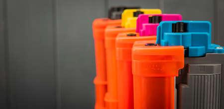 Toner cartridges for laser color printer