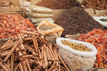 alleppey: Indian spice market in Kerala, Alleppey