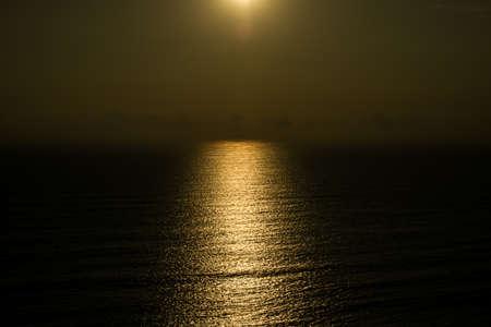 nightly: sunset on the beach
