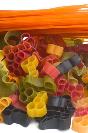 Coloured pasta products
