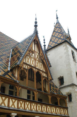 nuns: The old peoples homes of Beaunes are in the area of Burgundy in France.