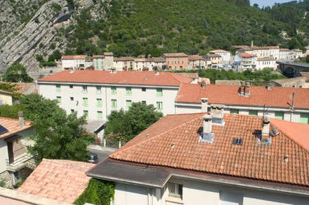 Center town of Anduze